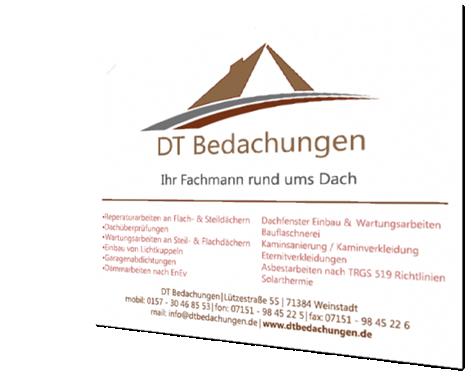 ScholzBedachungen - Banner