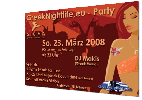 GreekNightlife.eu - Flyer